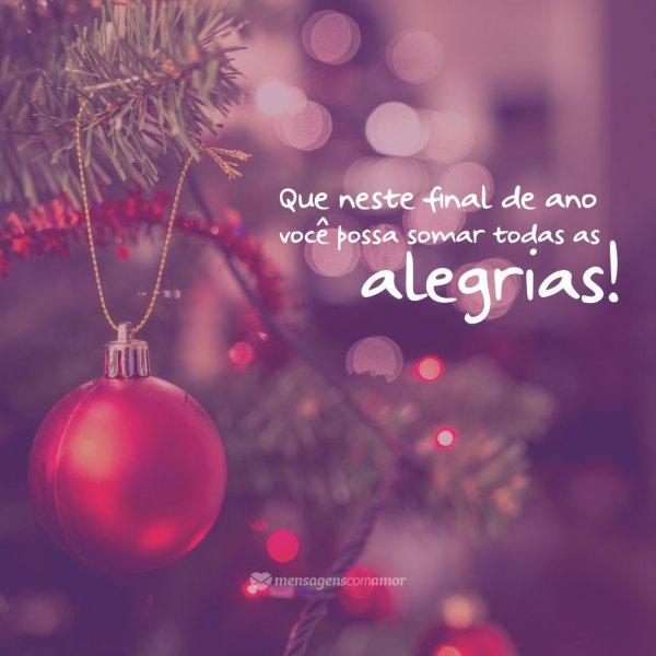 Mensagens Natal E Ano Novo Boas Festas