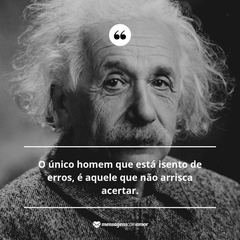 Erros Albert Einstein Cientistas