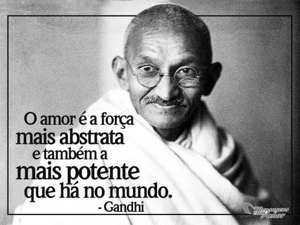 Frases De Gandhi Paz E Reflexão