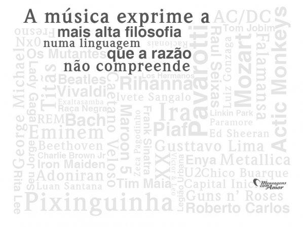 Frases De Música Música Em Palavras