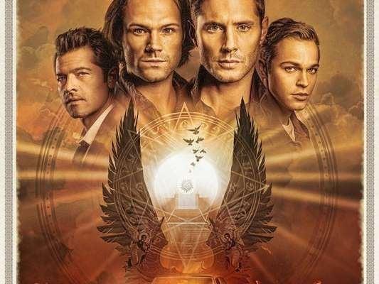 Capa da série Supernatural