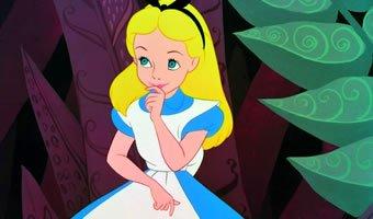 Personagem Alice no filme Alice no País das Maravilhas