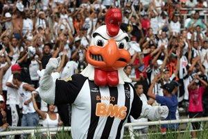 Galo mascote do Time Atlético Mineiro