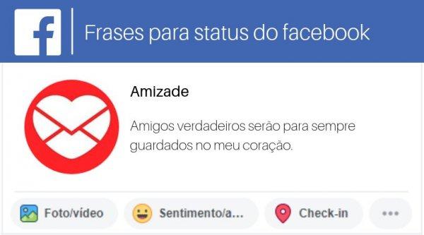 Amizade Frases Para Status Do Facebook Facebook