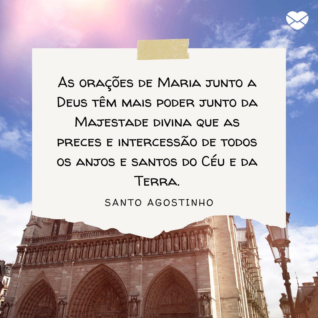 Dia De Nossa Senhora é Hora De Agradecer