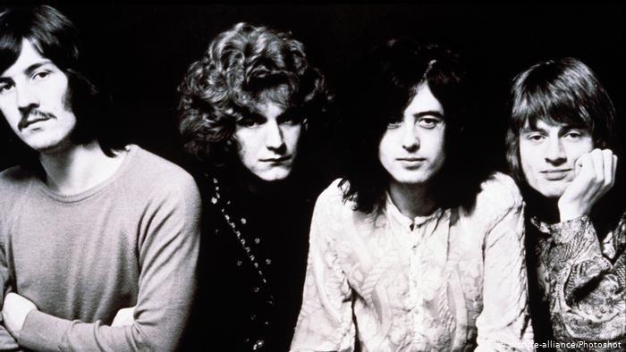 Integrantes do Led Zeppelin.