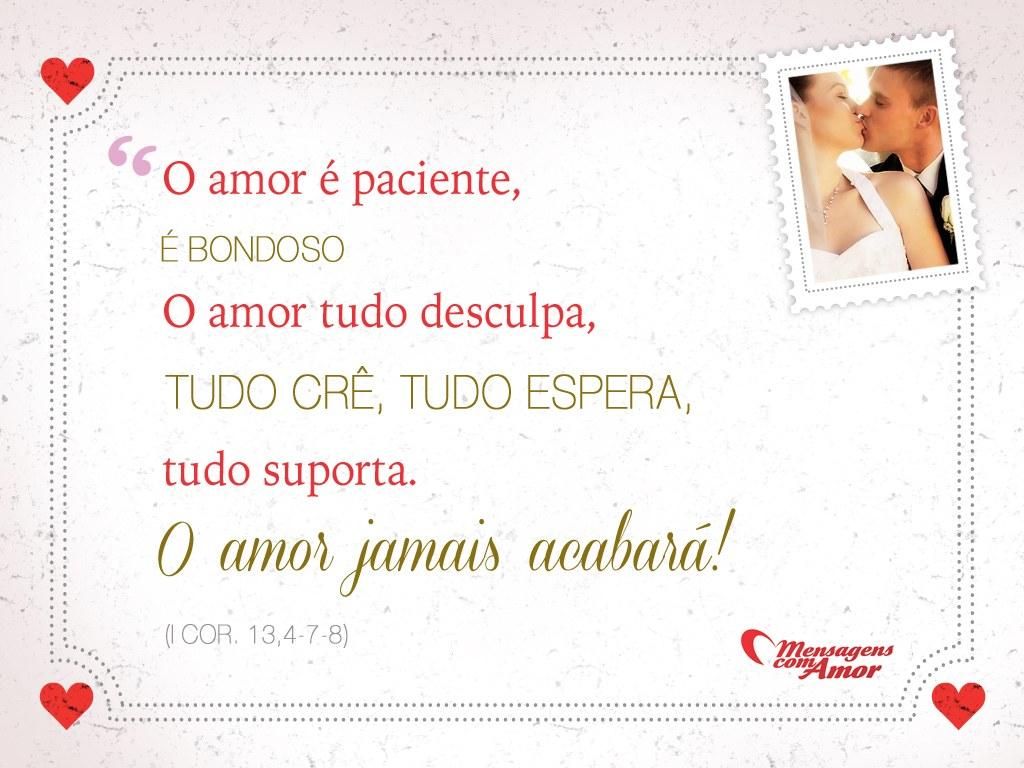 50 Frases De Amor Mais Lindas Para Colocar No Convite De: I Cor. 13,4-7-8