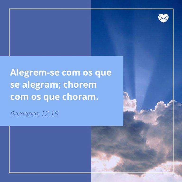 Alegrem Se Romanos 12 15 Luto