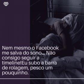 Nem Facebook salva!