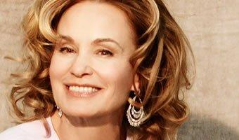 Atriz Jessica Lange sorrindo