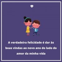 Verdadeira Felicidade Frases De Amor Para O Ano Novo Ano