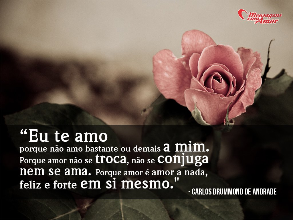 Sem Motivos Carlos Drummond De Andrade Declara 231 245 Es