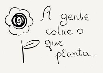 Quem Planta Colhe O Mundo Dá Voltas