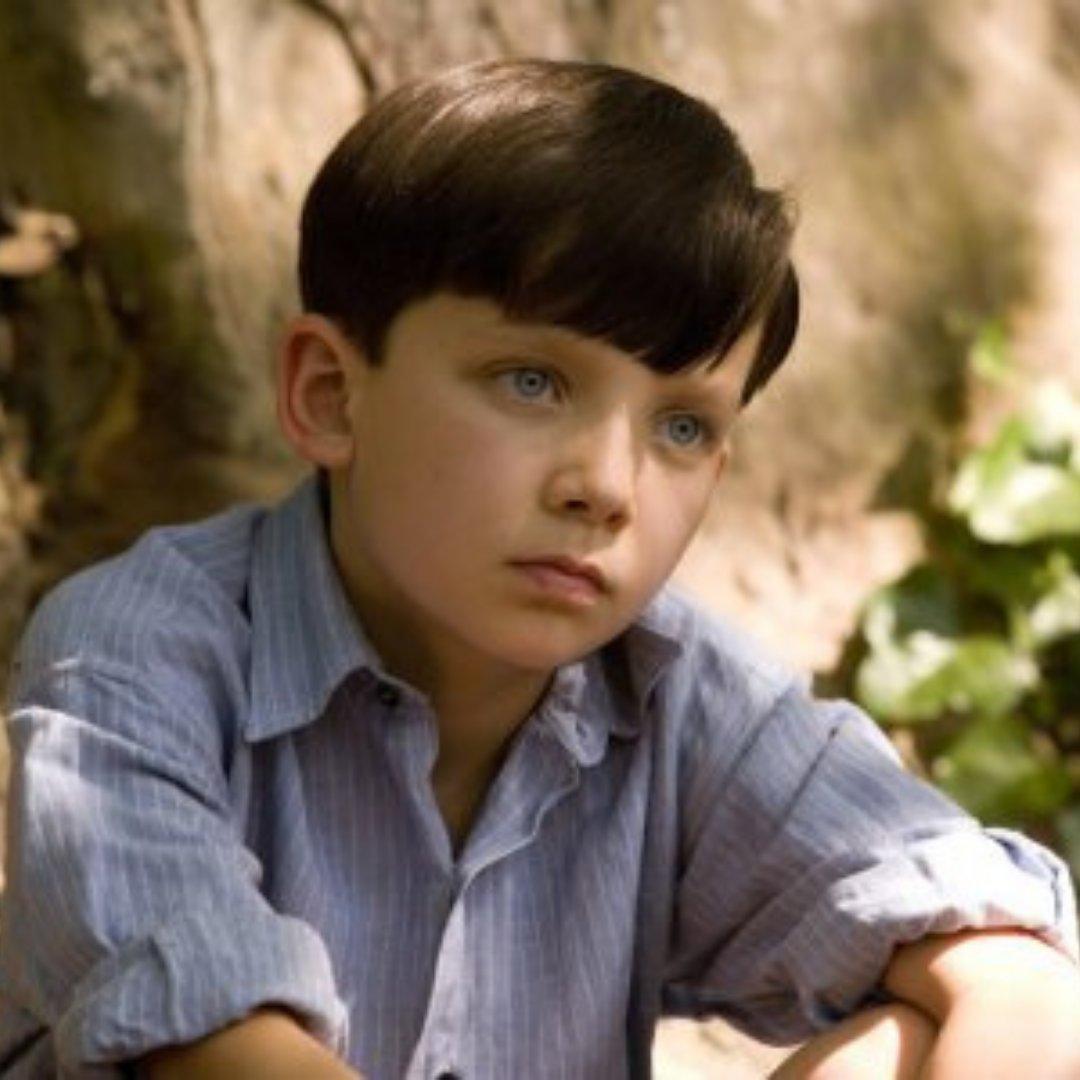 Cena do filme 'O menino do pijama listrada'