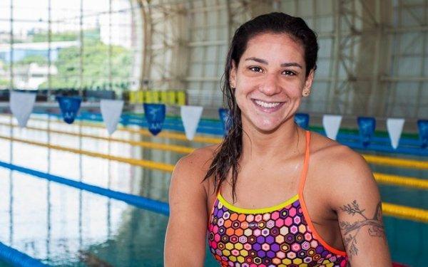 Joanna Maranhão sorrindo