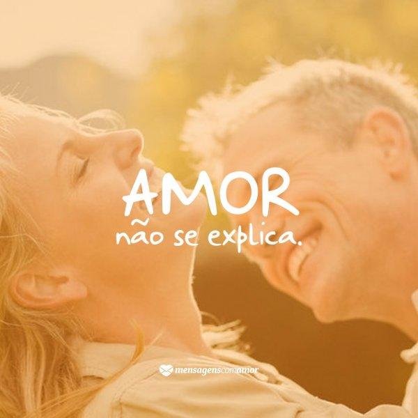'Amor não se explica.' -  10 razões para amar sem medo