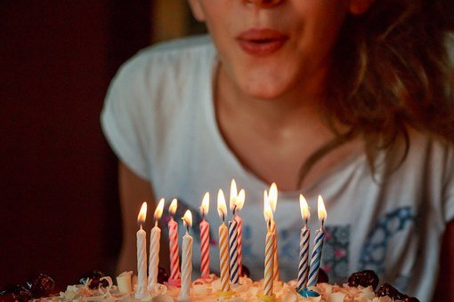 O seu dom me encanta - Legendas para foto de aniversário - Aniversário