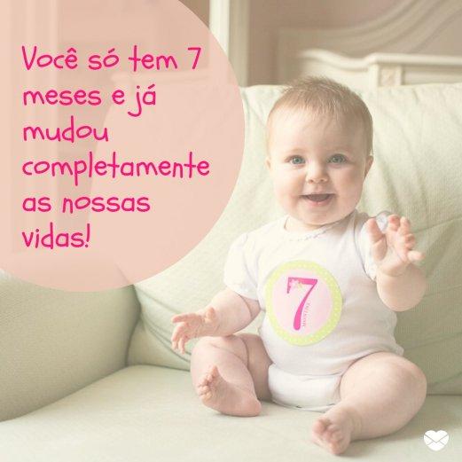 zapatos deportivos 5f791 e393a Mudou a minha vida - Mensagens para bebê de 7 meses ...