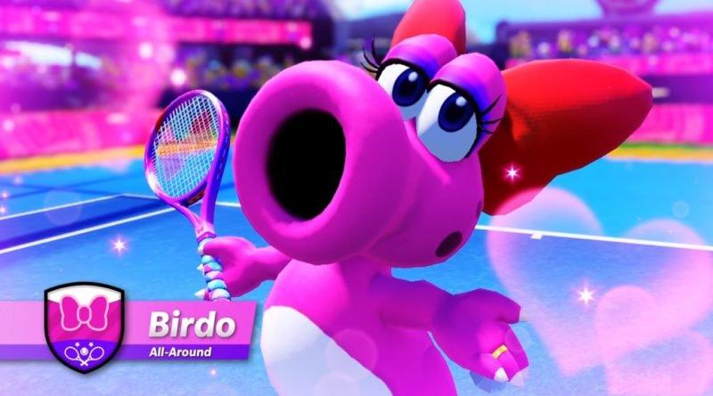 Reprodução do personagem Birdo, do jogo Super Mario