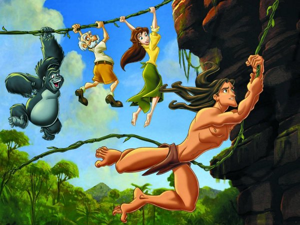 Tarzan Desenhos Infantis Para Todas As Idades Filmes