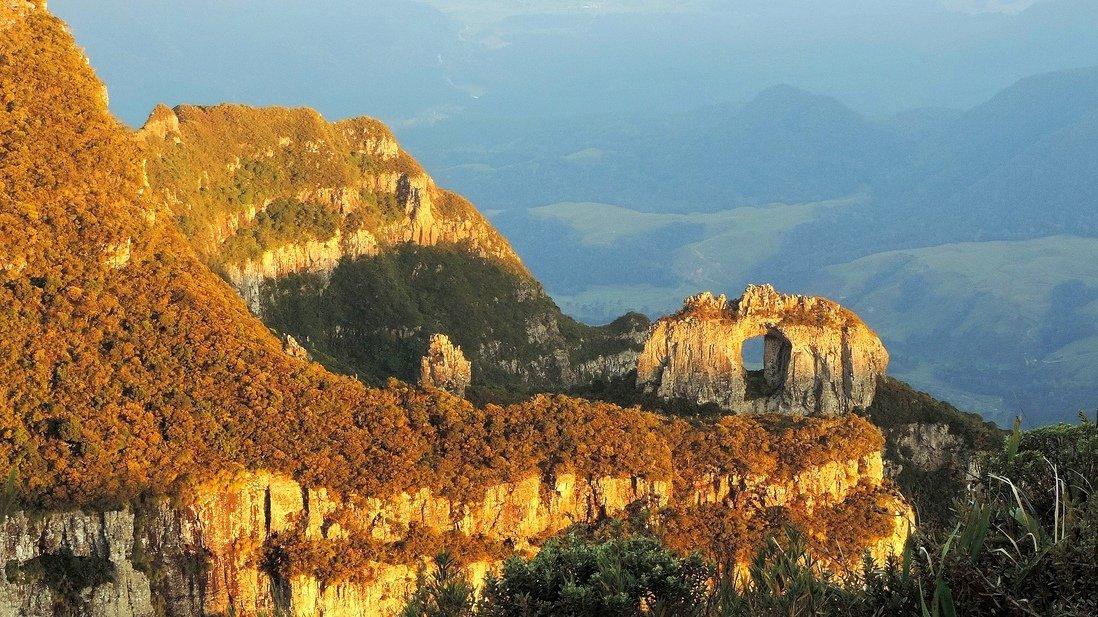 A Pedra Furada em Urubici, Santa Catarina