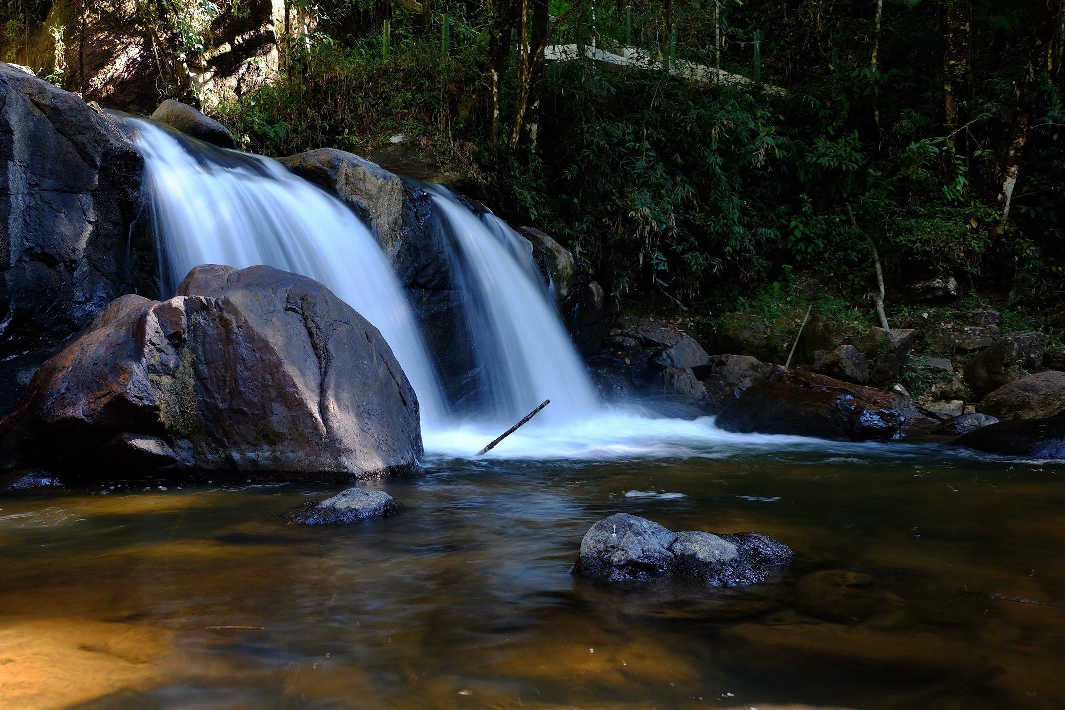 Cachoeira em São Francisco Xavier, SP