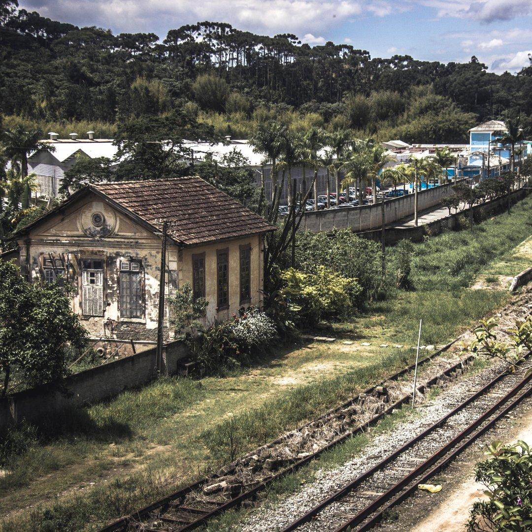 Foto da Estação de Guararema na cidade de Guararema