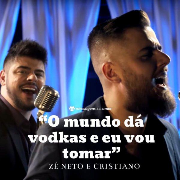 Vodkas Frases Sertanejas Trechos De Música