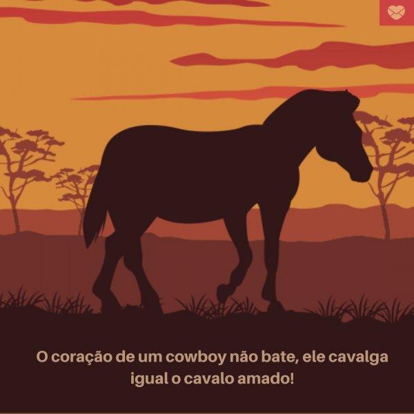 O Coração Do Cowboy Frases De Cowboy Outras