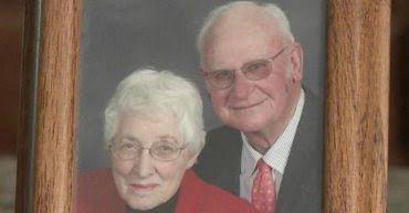 Foto de casal de idosos