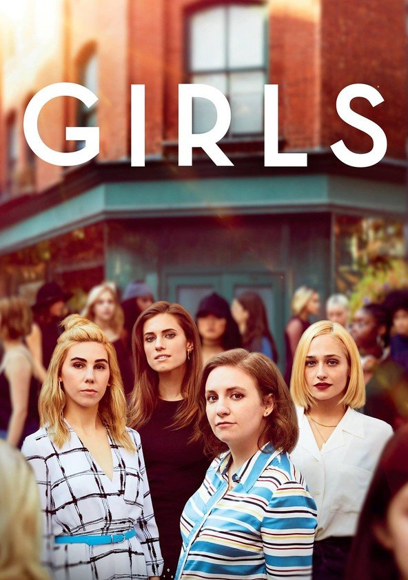 Pôster de divulgação da série Girls