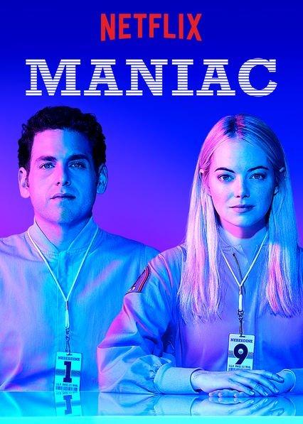 Pôster de divulgação da série Maniac