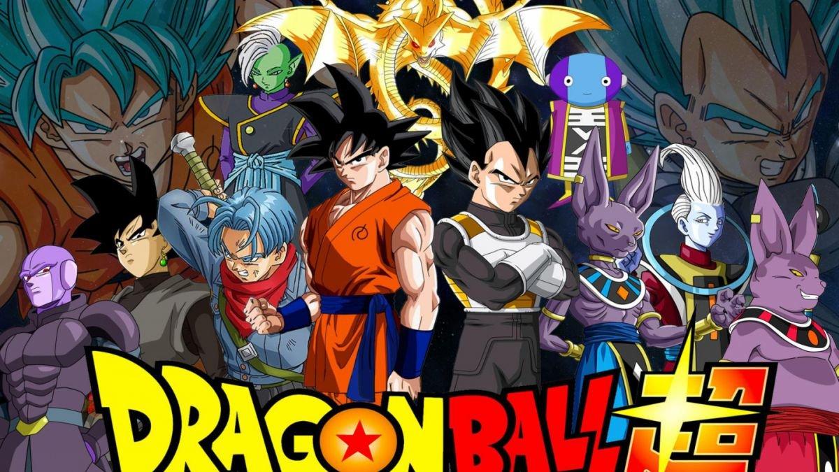 Poster da animação Dragon Ball com seus principais personagens