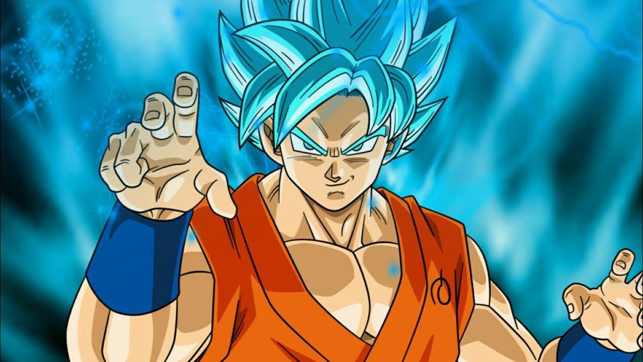 Goku como Super Sayajin