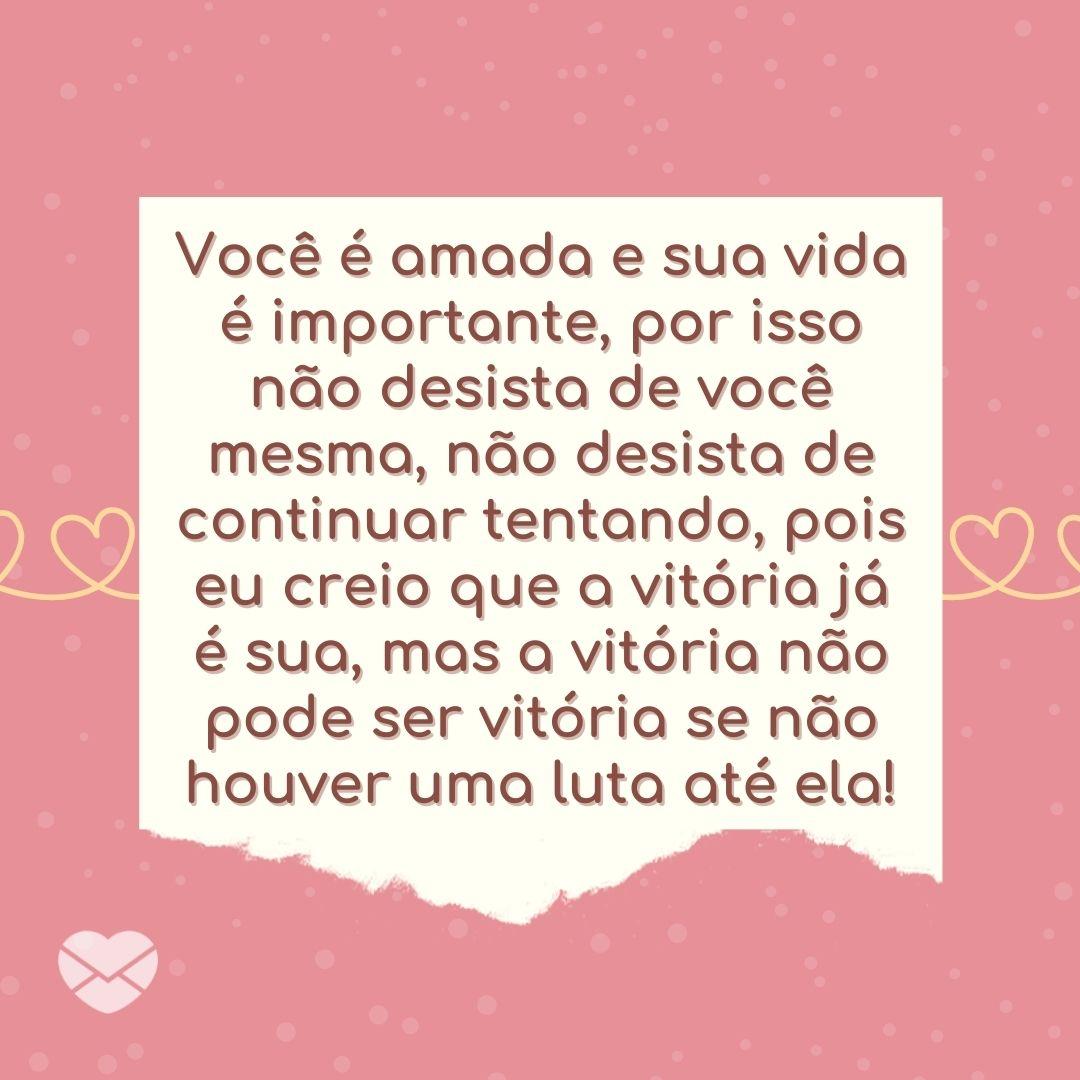 'Continue a correr com todas as suas forças até a sua vitória, que já foi escrita por Deus.' - Mensagem de ânimo de Deus