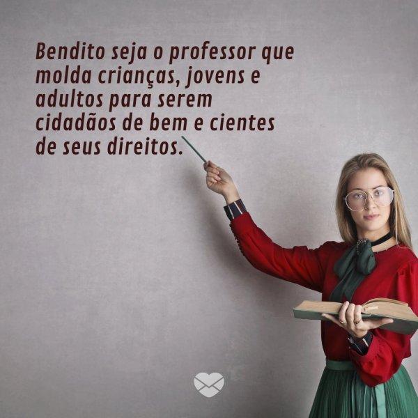 Oracoes E Frases Para O Dia Do Professor Comemore