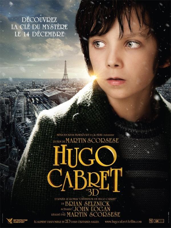 Pôster do filme A Invenção de Hugo Cabret