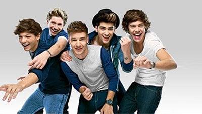 Foto banda One Direction para divulgação