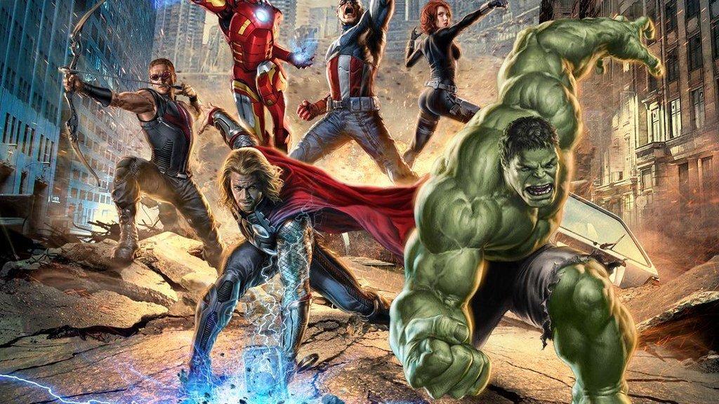 Cartaz do filme Os Vingadores.