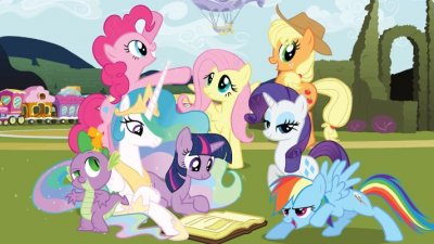 Personagens do desenho My Little Pony