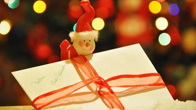 cartes de natal deseje felicidade a todos