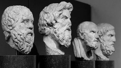 Resultado de imagem para filósofos da antiga grécia