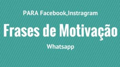Frases De Motivação Para O Facebook Encoraje Todos Os Seus