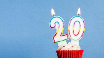 Mensagens Para Aniversário De 20 Anos Celebre O Início Do