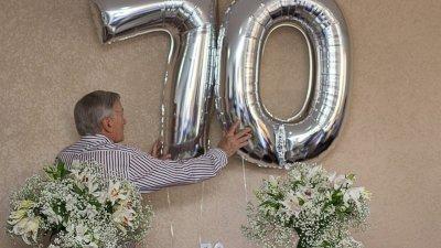Mensagens Para Aniversário De 70 Anos Parabenize Pelos Anos Vividos