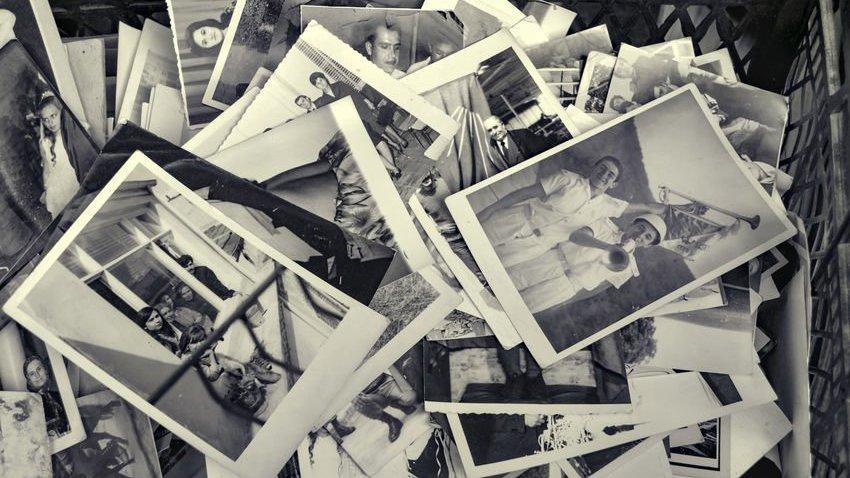 Fotos em caixa