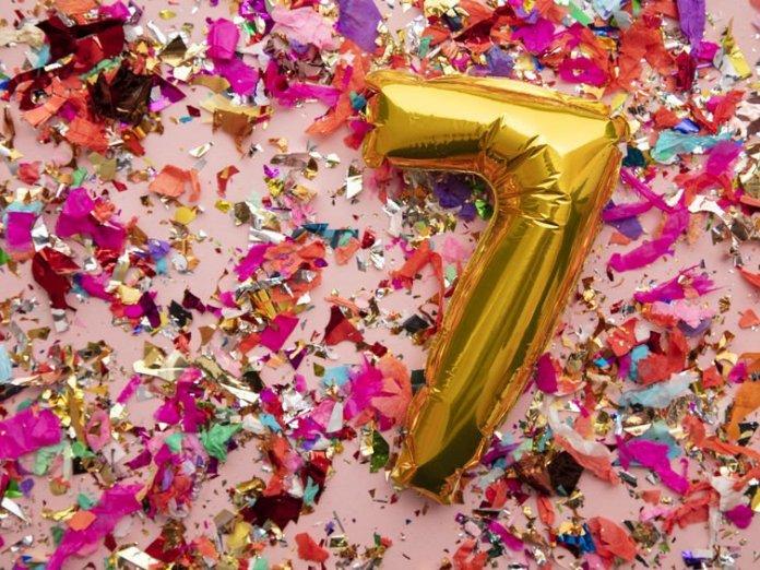 Mensagens para aniversário de 7 anos. É hora de celebrar!