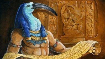 Tot. Um dos deuses mais importantes da Mitologia Egípcia!