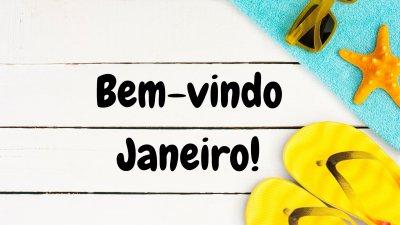 Dê As Boas Vindas à Janeiro O Mês Q Inaugura Cada Ano