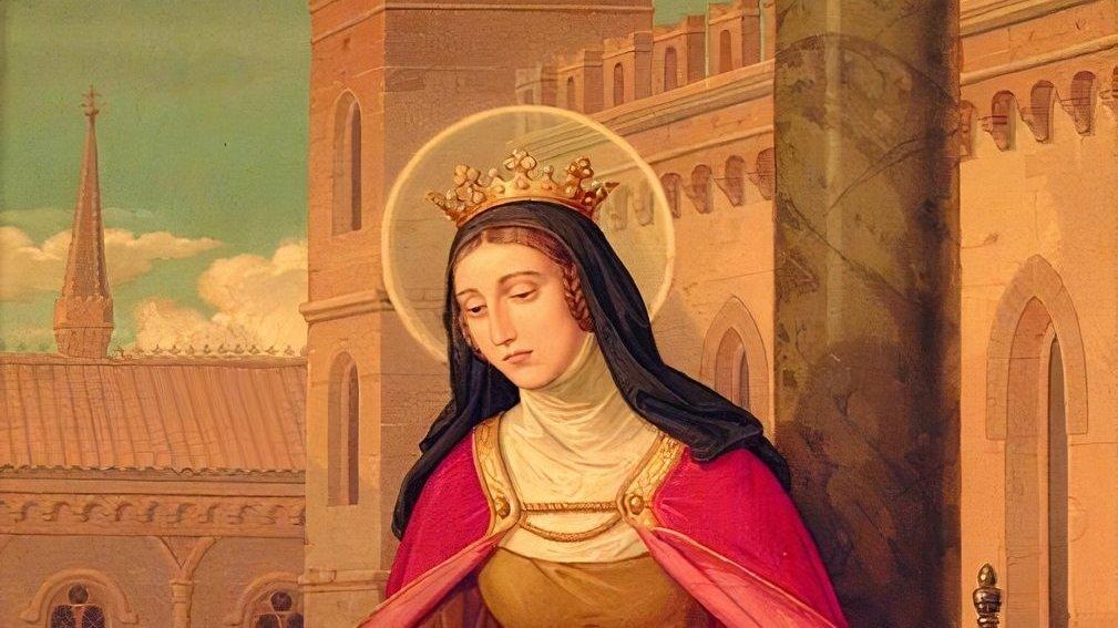 Representação de Santa Isabel de Portugal